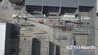 Marcus Movie Tavern Construction Aerial -  April 24, 2019