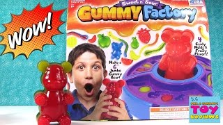 DIY Giant Gummy Bear Factory | Does It Work? No Cooking Project | PSToyReviews