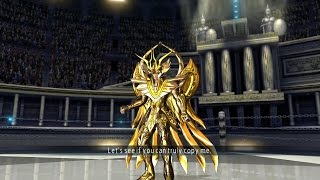 Saint Seiya Soldier's Soul: Virgo Shaka God Cloth Moveset Gameplay [PS4] (English)