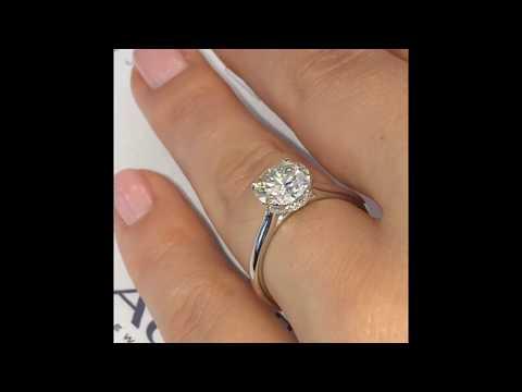 1.75 ct Round Diamond Engagement Ring
