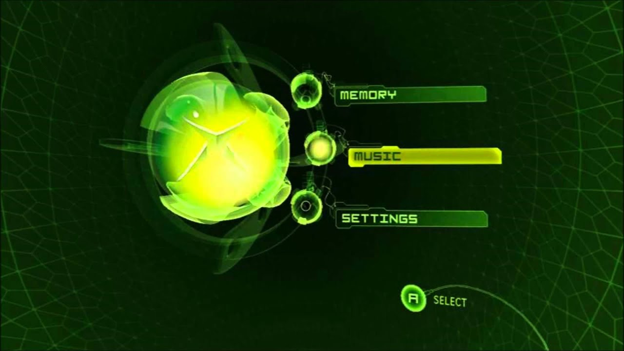 Group of Original Xbox Dashboard Logo
