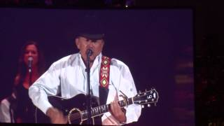 "George Strait LIVE - ""Here for a Good Time"" & ""When Did You Stop Loving Me?"" in Denver, CO"