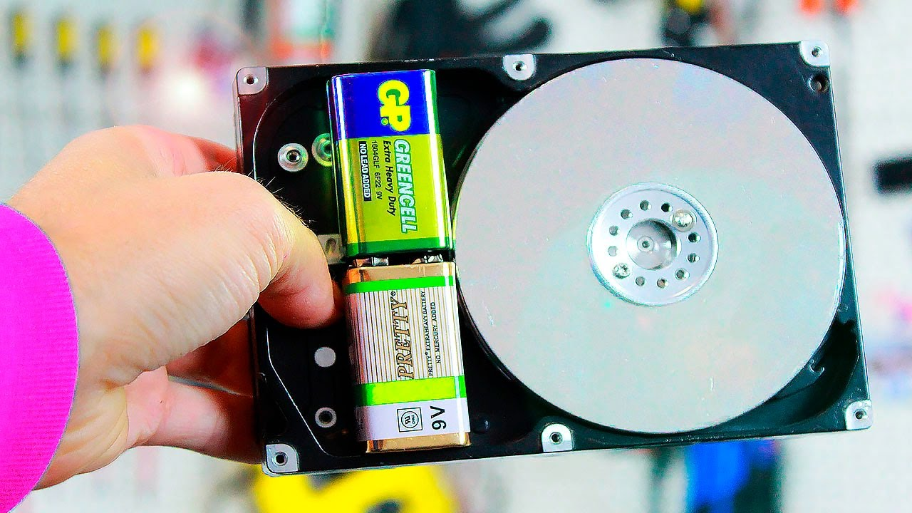 3 ideas - what can be made from an old HDD on