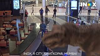 Incredeble 7D Graphics animals in a mall