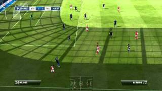 Fifa 12 Demo Gameplay - Arsenal Vs Man City