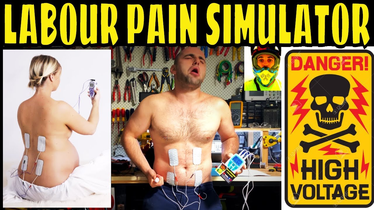 Testing 180 Volts Labour Pain Simulator at FULL POWER ...