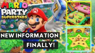 NEW MARIO PARTY SUPERSTARS INFORMATION! (No 50 Turn Games? + More Confirmed Minigames)