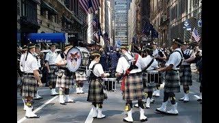 New York Tartan Day Parade 2019 NYC Celebrating Scotland