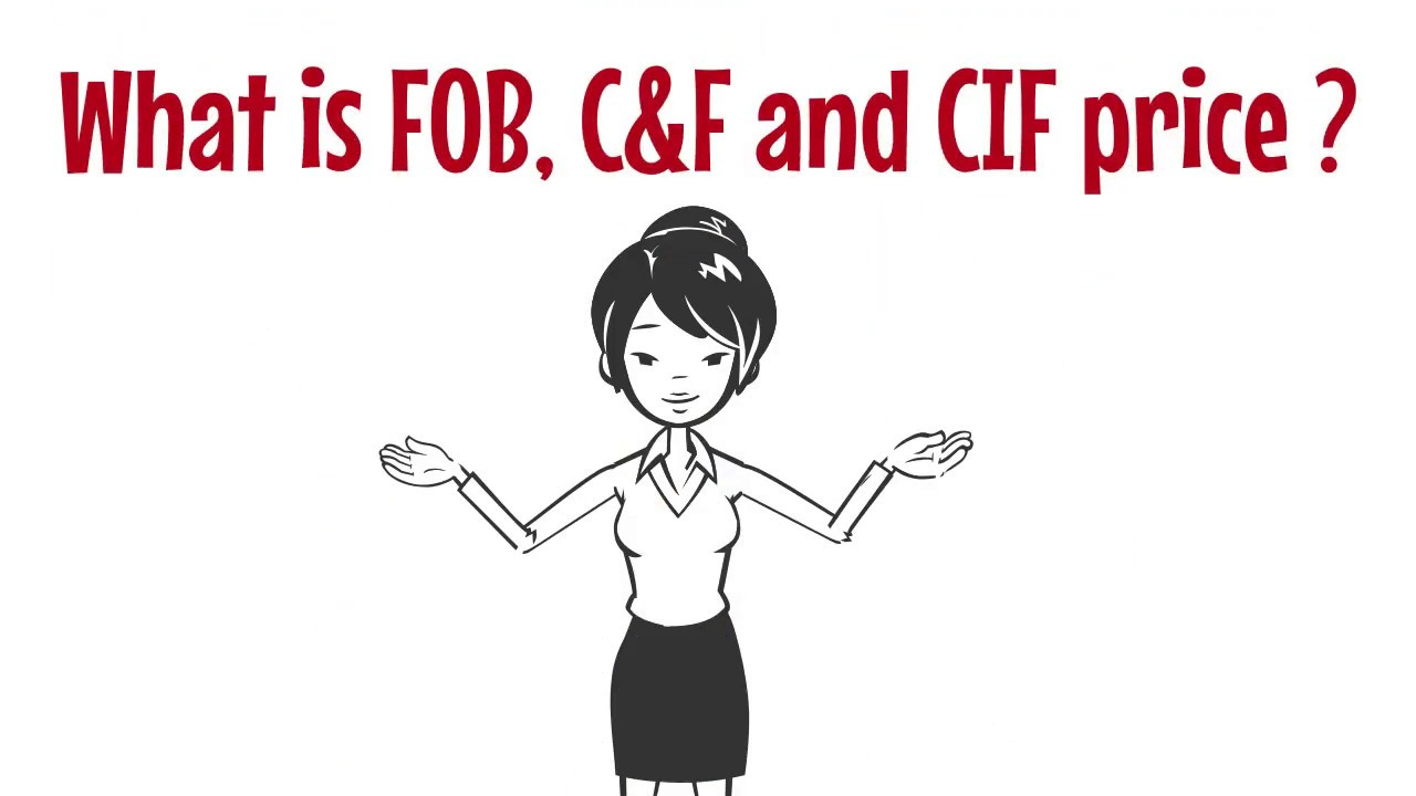 What is FOB, C&F and CIF Price ?
