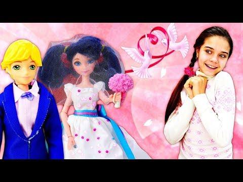 Свадьба Маринетт и Адриана. Куклы Леди Баг - Салон красоты. Мультики для детей