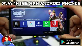 Télécharger et jouer Fortnite dans 1Gb Ram Android Devices (fr) dans Simple Way 2019