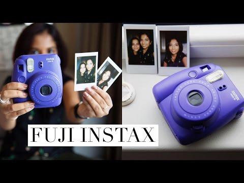 Fujifilm Instax (Polaroid) Camera How To + Review // Magali Vaz