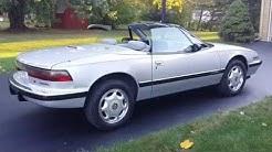 1991 Buick Reatta convertible for sale $14,900 auto appraisal Mt. Pleasant Mi. 800-301-3886