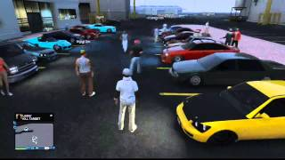 Gta 5 | Online | Car/stance Meet #32 (1/2)