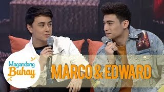 Magandang Buhay: Marco and Edward describe their friendship