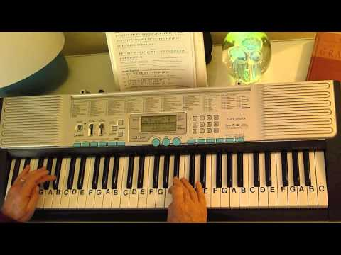 Rockin Around The Christmas Tree Piano Letters.How To Play Rockin Around The Christmas Tree Brenda Lee Letternoteplayer C
