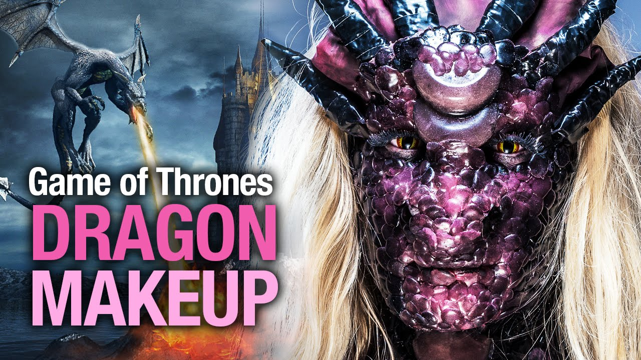 Got Dragon Halloween Makeup Tutorial Youtube