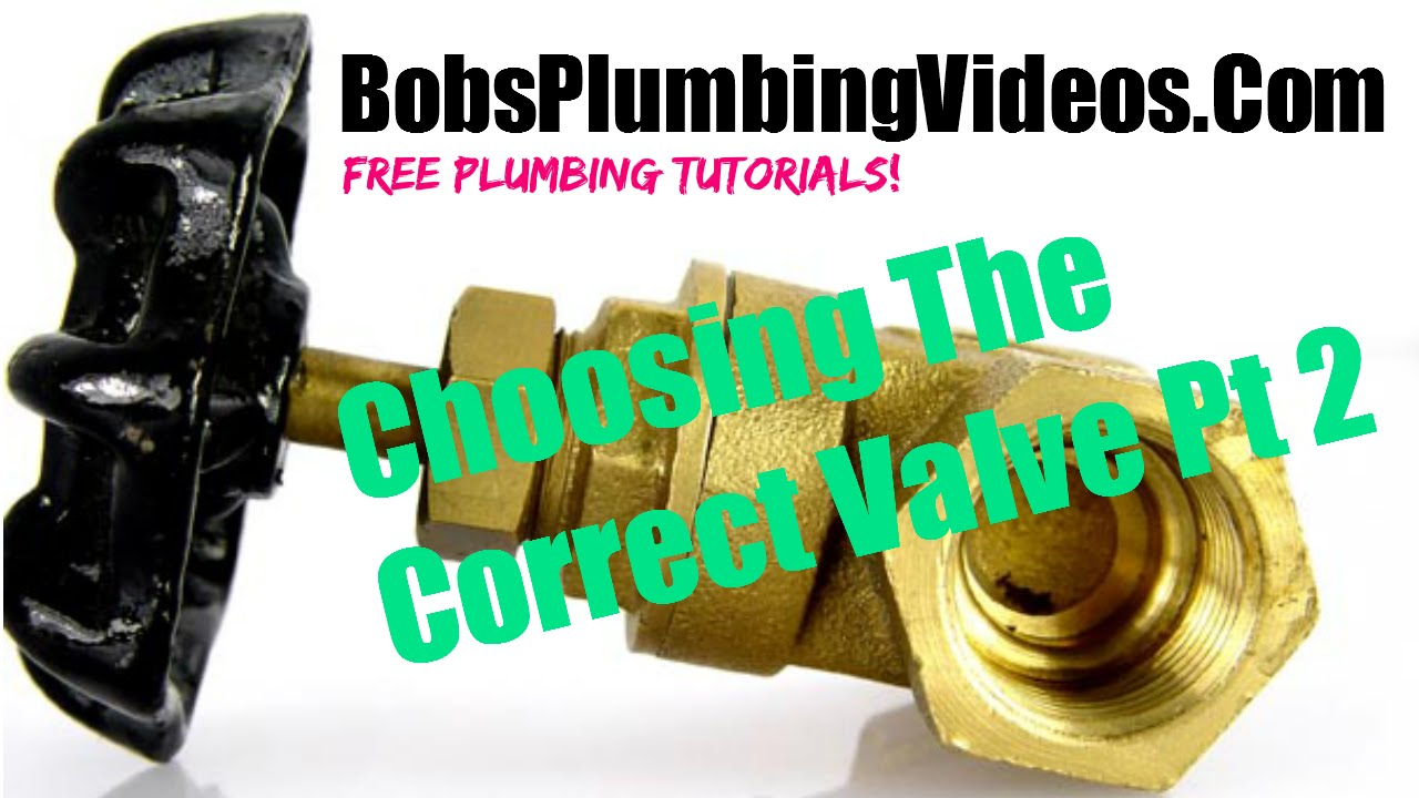 How To Pick The Right Hot And Cold Water Shut Off Valves