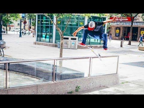 TJ Rogers Banger Skateboarding in Toronto | Homecoming