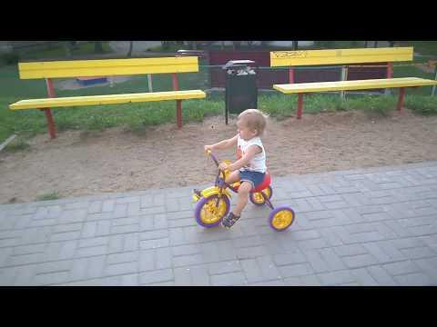 """Детский трехколесный велосипед """"Зубрёнок"""""""
