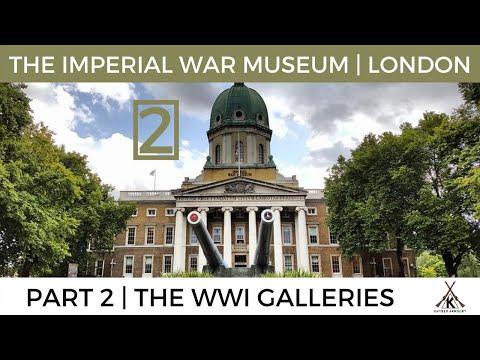 Imperial War Museum London (IWM London) Part 2 (WWI Galleries) - September 2017
