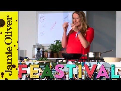 Anna Jones Live On Stage @ Feastival 2015