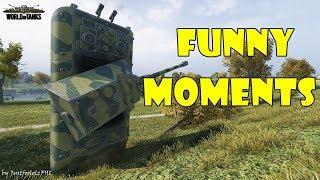 World of Tanks - Funny Moments   Week 1 September 2017