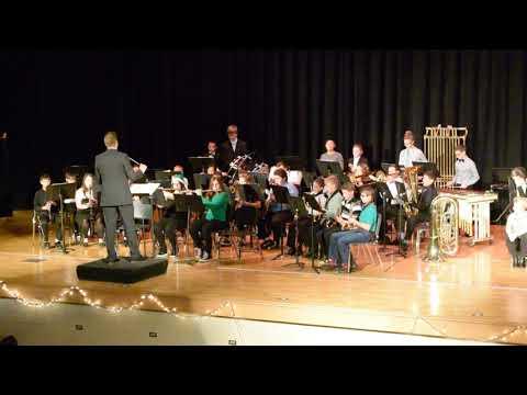 Newton Falls Junior High School Concert Band - Dance Of The Snowmen (12/2/17)