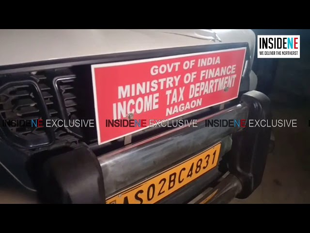 Income Tax Raids Businessman's Stores in Assam's Nagaon