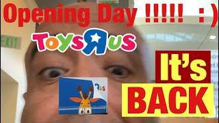 Toys R Us Opening Day HoustonTX