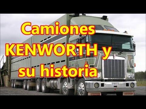 Los camiones 'KENWORTH' y su historia.