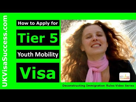 How To Get A Tier 5 Working Visa For The UK