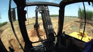 Volvo EC60E compact excavator - Operator comfort