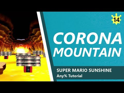 Corona Mountain - SMS Any% Tutorial 14