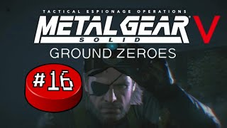 Metal Gear Solid V: Ground Zeroes, Part 16: Air Vent Escape - Button Jam