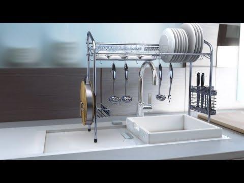 premiumracks professional over the sink dish rack fully customizable