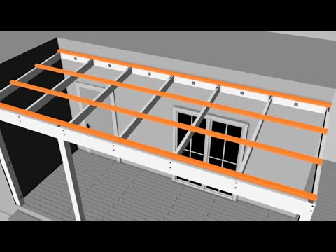 How to Build a Pergola Attached to Your House - Mitre 10 Easy As