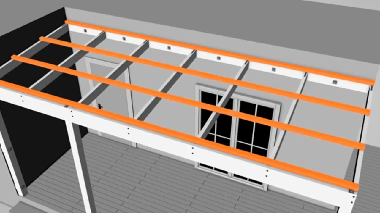 How to Build a Pergola Attached to Your House  Mitre 10