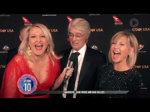 Aussie Stars Shine At G'Day USA 2018 | Studio 10