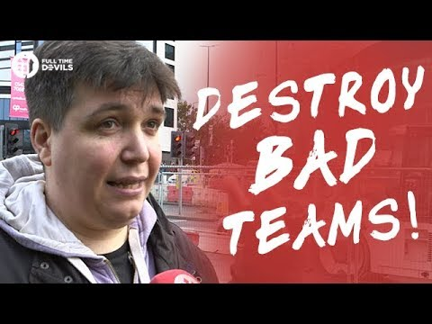 Destroy Bad Teams! Manchester United 4-0 Crystal Palace FANCAMS