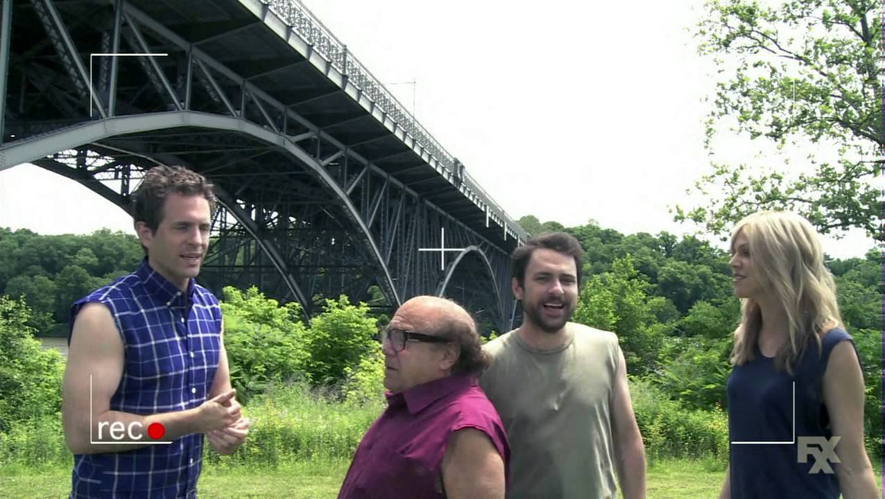 Itu0027s Always Sunny In Philadelphia   Project Badass: The Jump From The  Bridge   YouTube