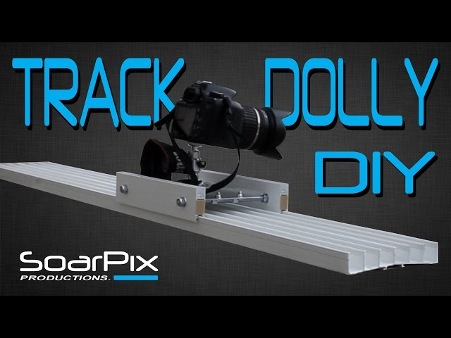DIY Track Dolly - DSLR Camera Slider