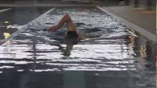 Front crawl Swimming technique - arms timing