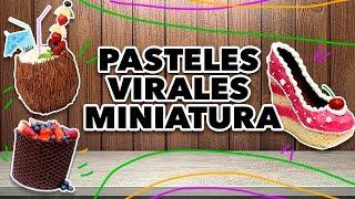 PASTELES VIRALES MINIATURA. EXPECTATIVA/REALIDAD