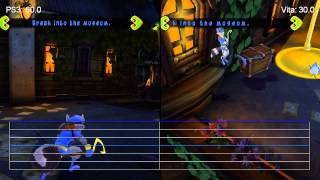 Sly Cooper: PS3 vs. PS Vita Frame-Rate Tests