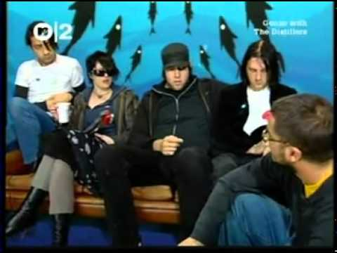 The Distillers - Gonzo's Interview (2003)