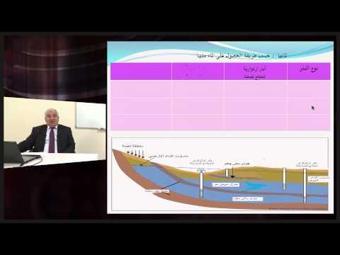 الجيولوجيا - الصف الحادى عشر - تغيرات المخزون المائى