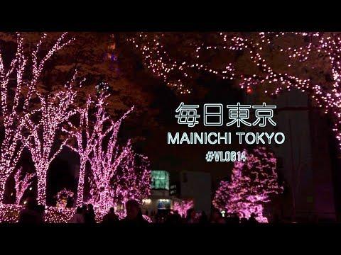 mainichi tokyo 일본일상 🗼: 11월의 마지막, 그리고 12월 (카페추천, 일루미네이션, 어드벤트캘린더, jlpt시험) / 일본VLOG