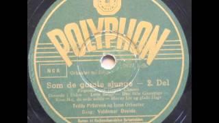 Som de gamle sjunge, Potpourri - Teddy Petersen; Valdemar Davids 1946