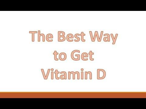 Best Way To Get Vitamin D